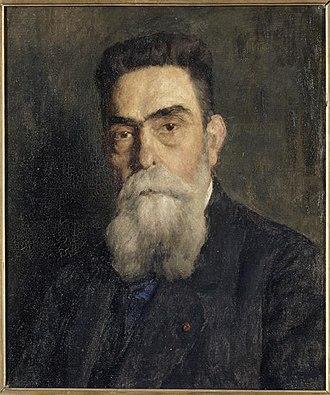 Victor Laloux - Victor Laloux; portrait by Adolphe Déchenaud
