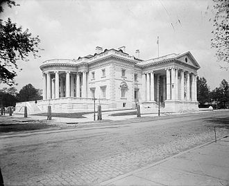 Memorial Continental Hall - Image: D.A.R. Hall, Washington, D.C.2