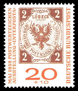 Postage stamps and postal history of Lübeck