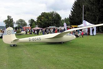 DFS Reiher - Reiher III reproduction, first flown 2009