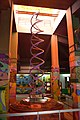 DNA Double Helix Model - Life Science Gallery - Digha Science Centre - New Digha - East Midnapore 2015-05-03 9970.JPG
