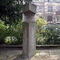 DRESDEN Fetscherplatz Memorial for Professor Rainer Fetscher - Fetscherdenkmal 20140401.JPG