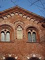 DSC02615 - Milano - Sant'Eustorgio - Dettaglio del fianco - Scultura e stemma - Foto di Giovanni Dall'Orto - 15-jan-2007.jpg
