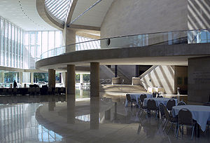 Morton H. Meyerson Symphony Center - Image: Dallas Meyerson Center foyer
