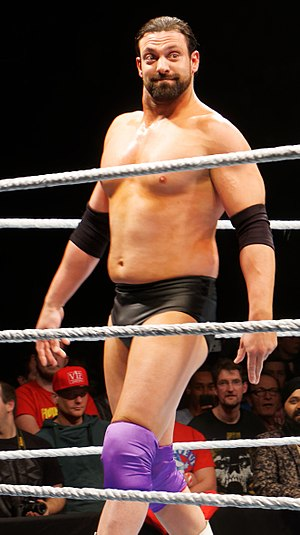 Damien Sandow - Haddad as Damien Sandow in April 2016