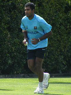 Dhammika Prasad Sri Lankan cricketer