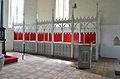 Damshagen, St. Thomas- Kirche, Chorgestül re..JPG