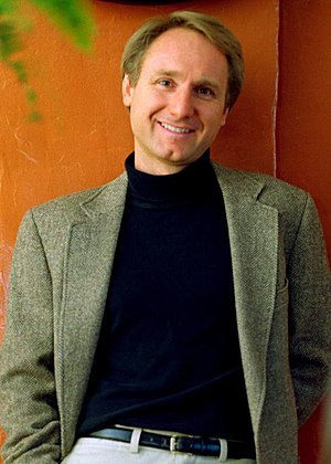 Dan Brown, bookjacket image.