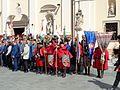Dan Međimurske županije - povijesne postrojbe ispred crkve.jpg