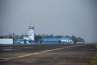 Danilo Atienza Air Base - Image: Danilo Atienza Air Base Control Tower