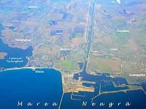 Agigea - Image: Danube Black Sea canal (Agigea)