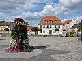 Das Rathaus, Platz des Friedens, Gommerns (Town hall, Platz des Friedens, Gommerns) - geo.hlipp.de - 4936.jpg