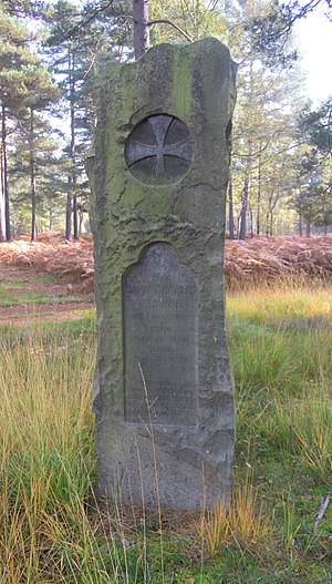David Charles Erskine - Erskine's grave in Brookwood Cemetery