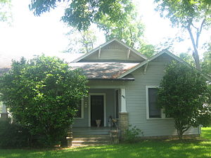David Houston (singer) - As a child, David Houston lived in this house in Minden, Louisiana, directly across Marshall Street from the residence of later Mayor Jack Batton