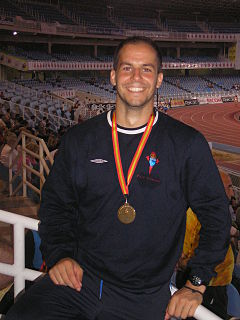 David Gómez (athlete) Spanish decathlete