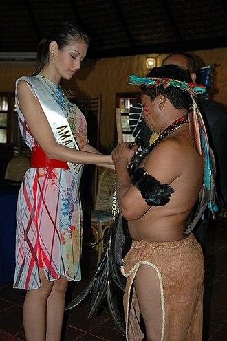 Dayana Mendoza - Mendoza in the Amazonas state, Venezuela