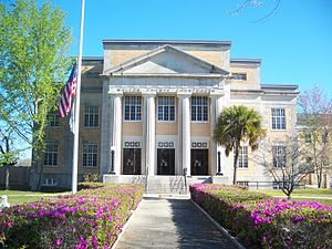DeFuniak Springs, Florida - Walton County Courthouse