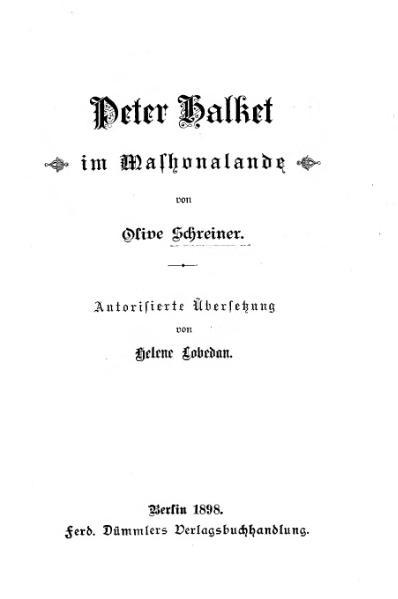 File:De Peter Halket (Schreiner).djvu