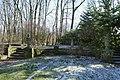 De exedra met terras en tuinvazen aan de oostrand van het park van het 's Gravenhuis te Dilbeek - 371178 - onroerenderfgoed.jpg
