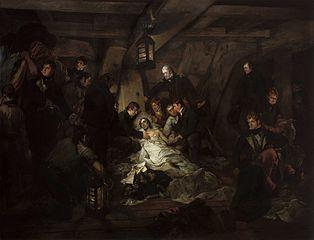 La Mort de Nelson, le 21 octobre 1805