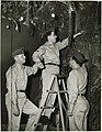 Decorating the Sukkah at Lowry Air Force Base, Denver, Colorado (4991841366).jpg