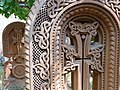 Decorative Khatchkars - Karmrovar Church - Ashtarak - Armenia (18803935730).jpg