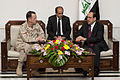 Defense.gov News Photo 100727-N-0696M-259 - Chairman of the Joint Chiefs of Staff Adm. Mike Mullen U.S. Navy visits Baghdad Iraq on July 27 2010. Mullen s final stop in Iraq wraps up the.jpg