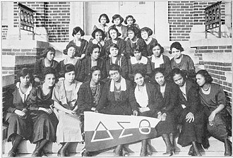 Delta Sigma Theta - Members of Beta Chapter in 1922