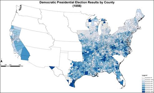 DemocraticPresidentialCounty1856Colorbrewer