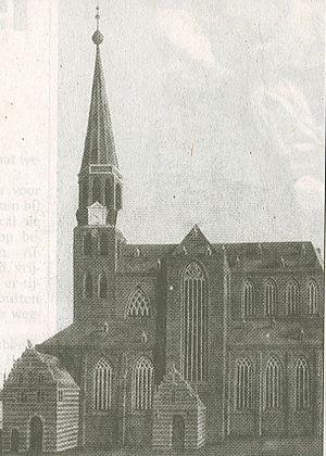 Der Aa-kerk - Image: Der Aa kerk in de 18e eeuw