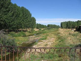 Voltoya River river in Spain