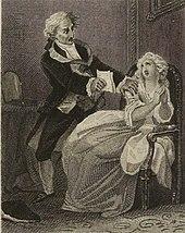 William Ashley nach Alexandre-Joseph Desenne: La mère coupable, 4. Akt, Szene 13 (um 1830) (Quelle: Wikimedia)