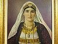 Detail of 'Shkodran Woman' by Simon Rrota (1928) - History Museum - Shkodra - Albania (27719525777).jpg