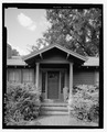 Detail of portico, facing north - 117 East Vanderbilt Street (House), 117 East Vanderbilt Street, Orlando, Orange County, FL HABS FL-536-6.tif