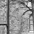 Detail onderste spaarveld begane grond noordgevel noorderdwarsarm. - Utrecht - 20233280 - RCE.jpg