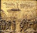 Detalle en Puerta Paraíso, Baptisterio de San Giovani 6, Florencia.JPG
