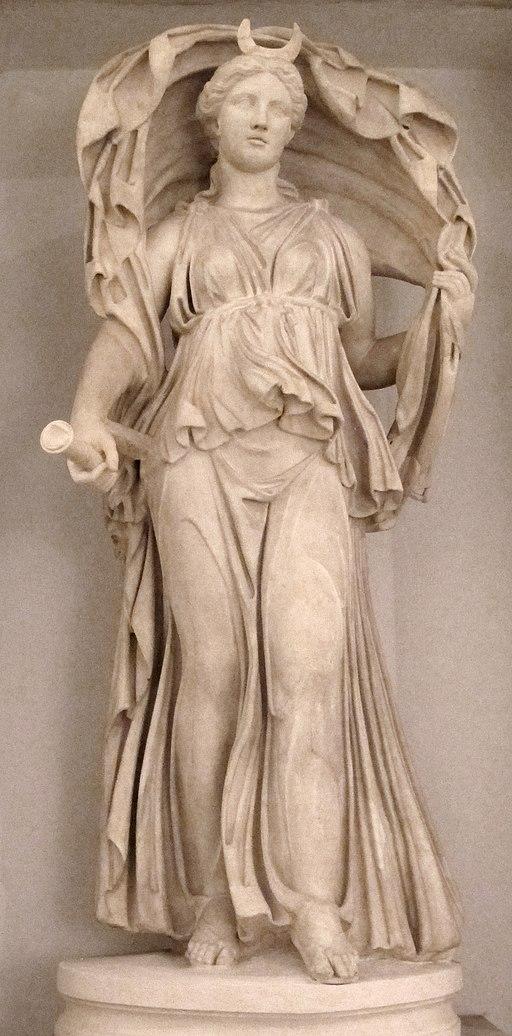 Diana-selene, da originale ellenistico, da porta s. sebastiano 02
