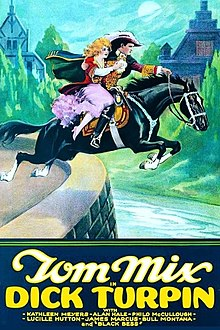 Image de l'affiche du film montrant un cavalier avec une fille sur un cheval