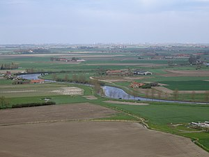 Belgium - Polders along the Yser river