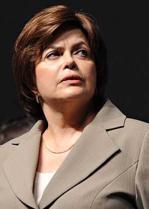 Dilma Rousseff, minister chief of staff of the Presidency of the Federative Republic of Brazil.