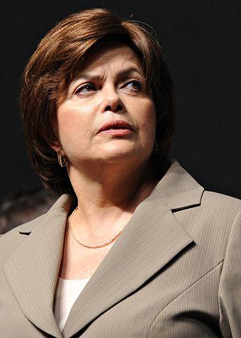 Dilma Rousseff 2009., From WikimediaPhotos