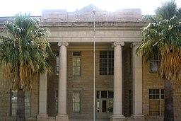 Dimmit County Courthouse i Carrizo Springs.