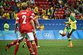 Dinamarca x África do Sul - Futebol masculino - Olimpíadas Rio 2016 (28759752791).jpg