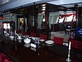 Dining table in Officers' Mess of HMS Victory - geograph.org.uk - 648687.jpg