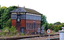 Princes Risborough North signal box pictured in 2009.