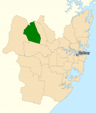 Division of Chifley - Division of Chifley in New South Wales, as of the 2016 federal election.