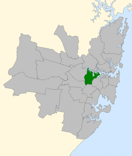 Division of Lowe former Australian federal electoral division