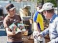 Djurens Ratt handing out flyers.jpg
