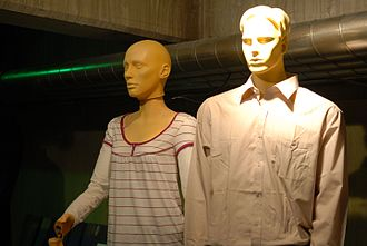 Auton - The Autons, shown here at the Doctor Who Experience