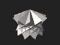 Dodecagrammic trapezohedron.stl